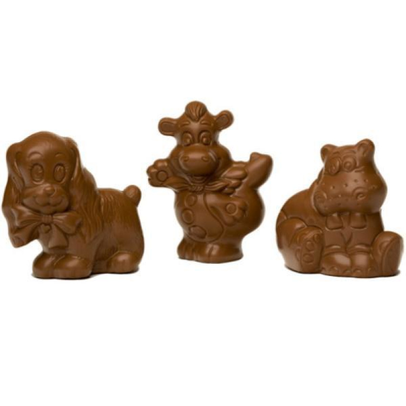 Assorted Figures Milk Chocolate