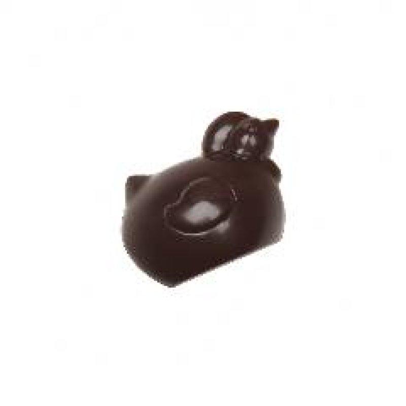 Veľkonočné kuriatko z horkej čokolády 10g