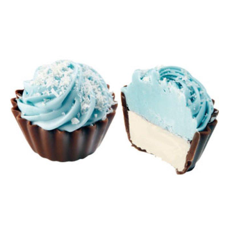 Cupcake blue coconut/ mafin kokosový