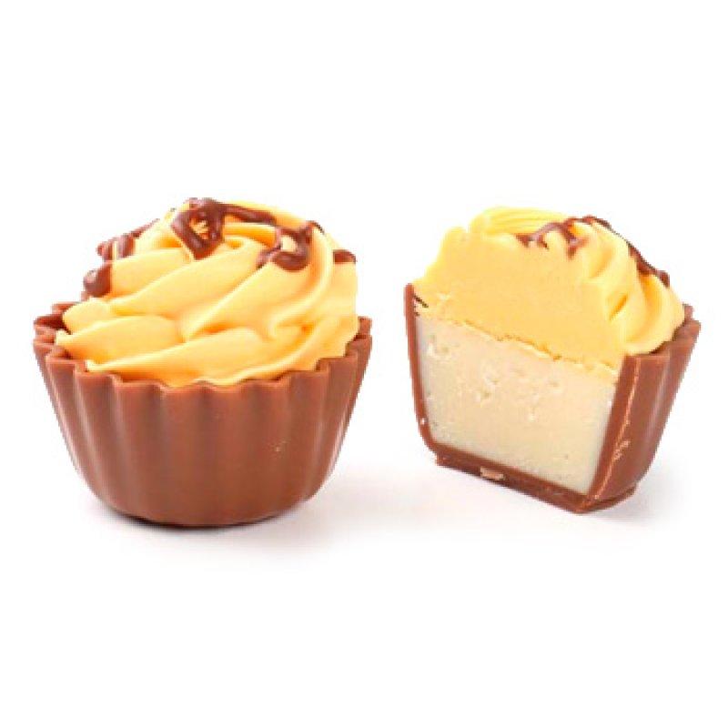 Cupcake lemon cheescake / mafin citrónový