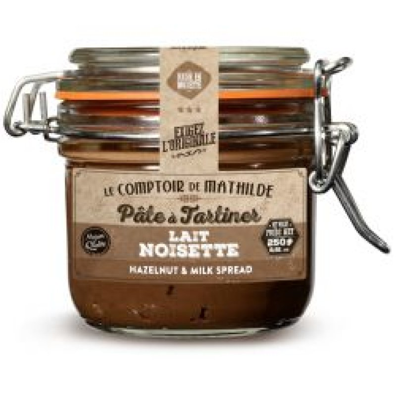 Pate a Tartiner LAIT NOISETTE